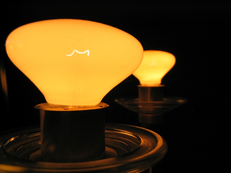 """Feel Good Group - A picture of a light bulb. Caption: What is this """"energy"""" you speak of?"""