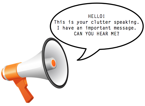 Feel Good group - Your clutter is talking to you